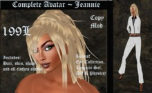 Cele'Sations Complete Avatar ~ Jeannie