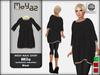 Mila Mesh Maxi Shirt ~ Burbalula collection - Black