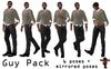 Bounce This Poses - Guy Pack