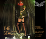 """[LA] LOSTANGEL:  """"The Stage - Green"""" - Multipose"""