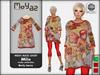Mila Mesh Maxi Shirt ~ Trulla collection - Burly berry