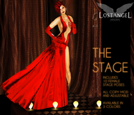 """[LA] LOSTANGEL:  """"The Stage - Red"""" - Multipose"""