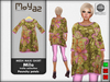 Mila Mesh Maxi Shirt ~ Trulla collection - paunchy petals
