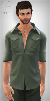 FATEwear Shirt -  Irwin Casual - Jungle