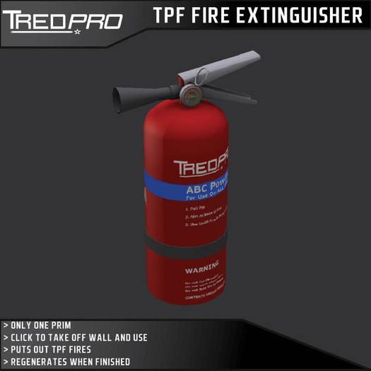 TPF Wall Mount Extinguisher