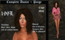 Cele'Sations Complete Avatar ~ Paige