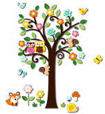 Baby Wall Tree Decal