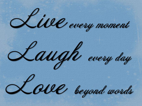 Second Life Marketplace Live Laugh Love Stencil