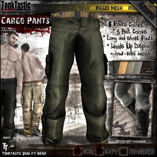 TonkTastic - Cargo Pants [Unicolor]