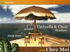Umbrella & Chair Seashore ♥ NEW Chez Moi