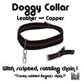 *~Ri!~* Leather and copper collar