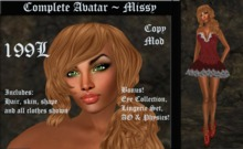 Cele'Sations Complete Avatar ~ Missy