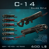 [BW] C14 Gauss Rifle - V2 - Box