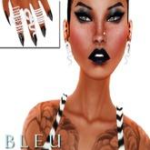 - B L E U - Beloved Serpent Set *Silver*