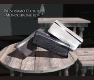 {{BSD Design Studio}} Prestissimo Clutch  -Monochrome  set