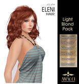 Amacci Hair ~ Eleni - Light Blond Pack