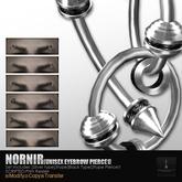 +ROZOREGALIA+*NORNIR*Eyebrow PIERCE1