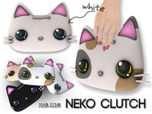 [Mad Echo] - White Neko Clutch