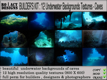 ..::RO!ACT::..DESIGNS 12 Underwater Backgrounds-Caves