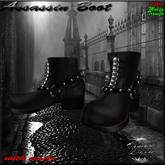 Vampire Legacy - Assassin Boot ,Goth,Vampire,Steampunk
