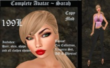 Cele'Sations Complete Avatar ~ Sarah