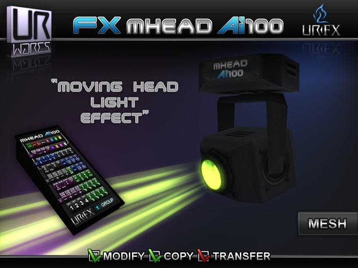 URW FX MOVING HEAD Ai100