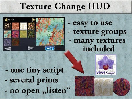 !MM! Texture Change HUD Script (DEMO)