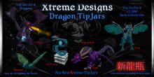 Dragon TipJars Fat Pack