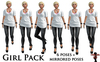 Bounce this poses   girl pack