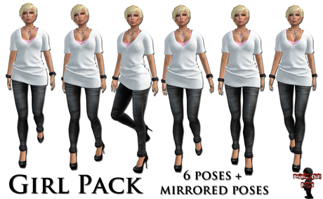 Bounce This Poses - Girl Pack