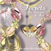 007a-The Secrets Collection Gold/Silver/Pink(BOXED)-Jewelry by Jake**