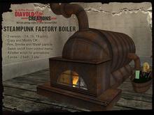 [dc] Steampunk Factory Boiler