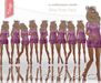 AUSHKA & CO -Nina Pose Pack+Mirrored*