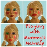 Playing With Mommy's Make Up Prank Kit