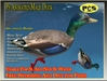 Ps Male Duck Animated Free Swimming Sculpty Bird Animal