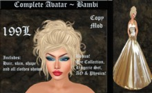Cele'Sations Complete Avatar ~ Bambi