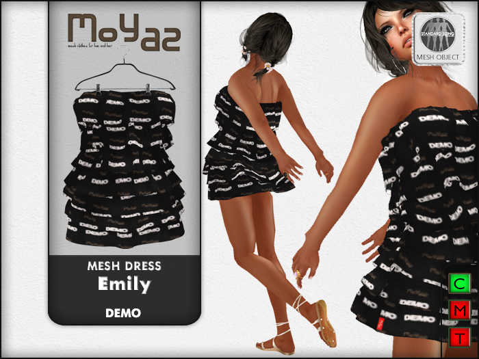 Emily mesh dress  - DEMO