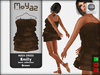 Emily mesh dress ~ Basic collection - Brown