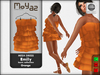 Emily mesh dress ~ Basic collection - Orange