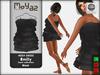 Emily mesh dress ~ Basic collection - Black