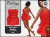 Emily dress basic collection red
