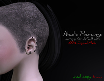 #Ziau# Aledia Piercings.