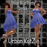 Chloe Blue Party Dress