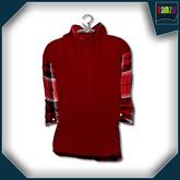 *Zanzo* Tartan Zeal Hooded Shirt