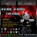 Rocker Teddy TipJar - Drummer