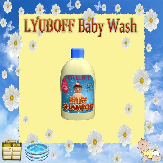 LYUBOFF Baby Wash  (1 use)
