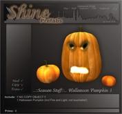 ..::Season::.. Halloween Pumkin 3 / Jack O' Lantern