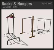 :FANATIK HOME: Racks & Hangers - mesh clothing display racks - store decor