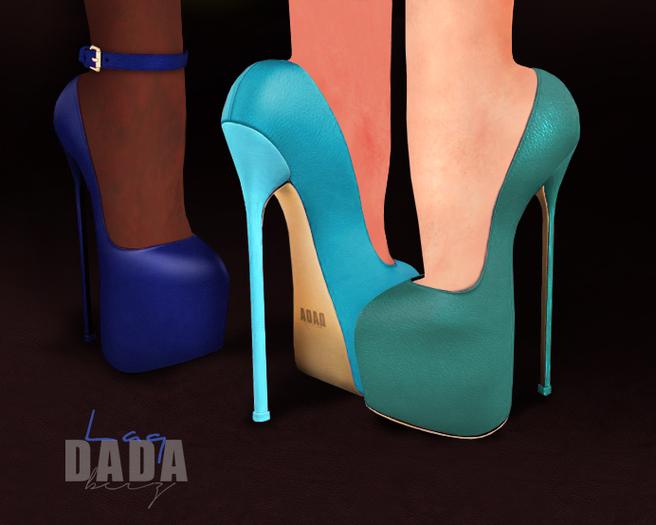 DADAbeiz ::  {Laq} Pumps Blue