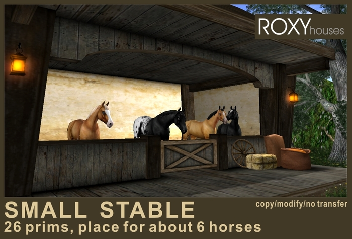 RURAL SMALL STABLE (1s/2012)
